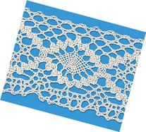 NATURAL 2 INCH CLUNY LACE CHAIN 12 Yards