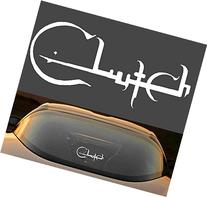 "9"" CLUTCH HARD ROCK BAND 7 YEAR VINYL DECAL STICKER"