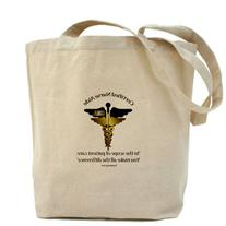 CafePress - CNA Tote Bag CD - Natural Canvas Tote Bag, Cloth