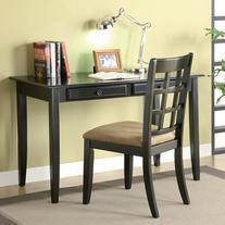 Coaster Versatile Black Office Desk