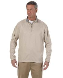 Ashworth Coat 5330 Men's Houndstooth Half-Zip