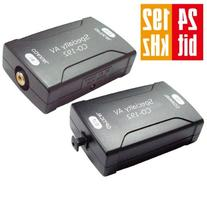 Digital Coax Coaxial S/PDIF to Optical TOSlink Audio