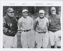 Cobb Speaker Ruth & Gehrig 8x10 Photo