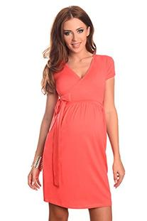Maternity Cocktail Dress V-neck Pregnancy Clothing Wear 5416