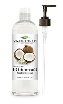 Coconut  Carrier Oil + PUMP. A Base Oil for Aromatherapy,