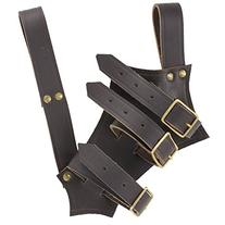 Code of Chivalry Bridle Leather Brown Sword Frog