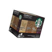 Starbucks Coffee Keurig K-Cup Variety Pack, 40 Count