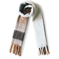 Chicwish Coffee Time Fringed Scarf