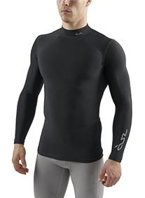 SUB Sports COLD Mens Compression Shirt - Mock Neck Long