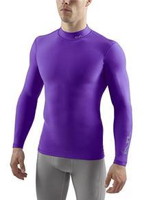 SUB Sports COLD Mens Compression Shirt - Mock Neck Long
