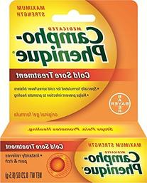 Campho-Phenique Cold Sore Treatment Original Gel Formula 0.