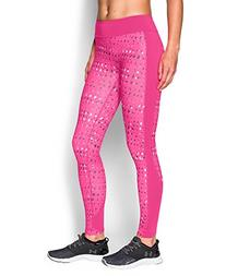 Women's ColdGear Printed, Rebel Pink/White, Small