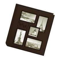 Pioneer Collage Frame Embossed Travel Sewn Leatherette Cover