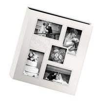 """Pioneer Collage Frame Embossed """"Wedding"""" Sewn Leatherette"""