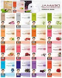 Dermal Korea Collagen Essence Full Face Facial Mask Sheet 16