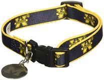 Sporty K9 Collegiate Michigan Wolverines Dog Collar, Small-