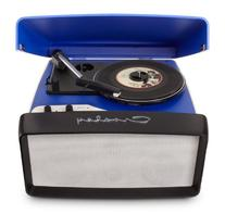 Crosley CR6010A-BL 3-Speed Collegiate Portable USB-Enabled
