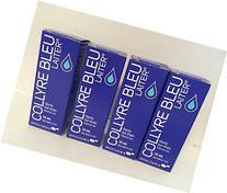 Original Collyre Bleu Blue Laiter Eye Drops Leurquin-X4 10ml