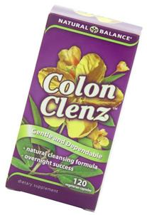 Natural Balance Colon Clenz, 120-Vegetarian Capsules