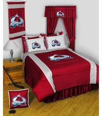 NHL Colorado Avalanche Hockey Set of 2 Logo Pillow Cases