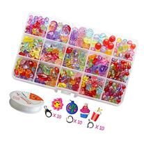 Pnbb Colorful Acrylic Beads Toy DIY Jewelry for Children