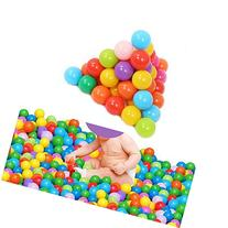 HeroNeo® 100pcs Colorful Ball Fun Ball Soft Plastic Ocean