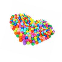 50 Pcs Colorful Fun Plastic Soft Balls Swim Toys Ocean Ball
