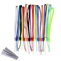Wisdompro 20 Pack 7-inch Short Colorful Wrist Lanyard/Strap