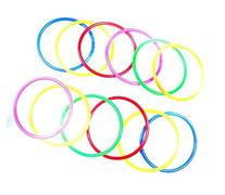 Eforstore 10pcs Small/Medium/Large Size Colorful Plastic