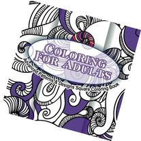 Coloring For Adults Advanced Patterns & Designs Square