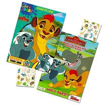 Lion Guard Coloring Book Super Set -- 2 Lion Guard Books, 2