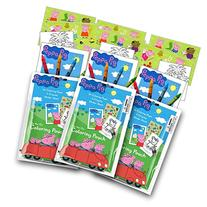 Peppa Pig Coloring Pack Party Favors with Stickers, Crayons