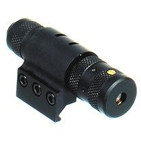 UTG Combat Tactical W/E Adjustable Red Laser with Rings