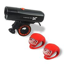 Xtreme Bright Ultra Torch LED Bike Light Set; Powerful,