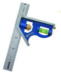 IRWIN Tools Combination Square, Metal-Body, 6-Inch
