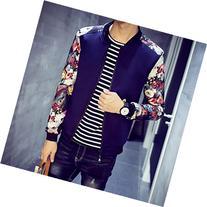 Spritech Men's Fashion Comfort Autumn Outcoat Stand Collar