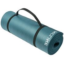 Incline Fit Comfort Foam Yoga and Exercise Mat with Carrying