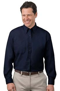 Port Authority Men's Comfort Wrinkle Resistant Shirt_Black/