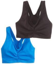 Hanes ComfortBlend ComfortFlex Fit; Pullover Bra 2-Pack