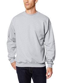 Hanes Men's EcoSmart Fleece Sweatshirt, Navy, Small