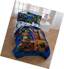 Teenage Mutant Ninja Turtles Comforter and Sheet Set