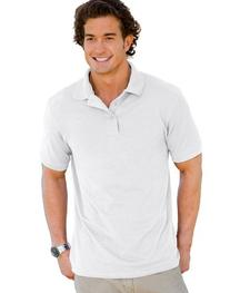 Hanes Adult ComfortSoft® Piquי Polo - White - 3XL