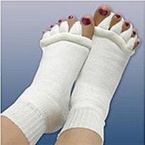 Comfy Toes Foot Alignment Socks Toe Spacer Relaxing Comfort