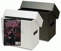 BCW Short Comic Book Storage Box - Plastic Corrugated