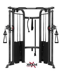 XMark Functional Trainer Cable Machine with Dual 200 lb