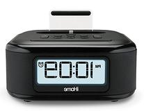 iHome Compact Alarm Clock Radio with Large Display &