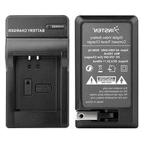 Insten Compact Battery Charger Set Compatible with Canon NB-