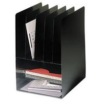 * Compact Combo Organizer, Eight Sections, Steel, 9 5/8 x 11
