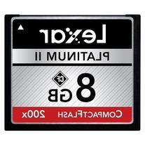 Compact Flash Lexar Platinum II Compact Flash 200x 8gb