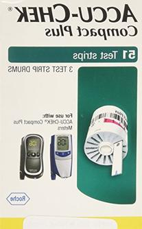 ACCU-CHEK Compact Plus Test Strips 51 Each